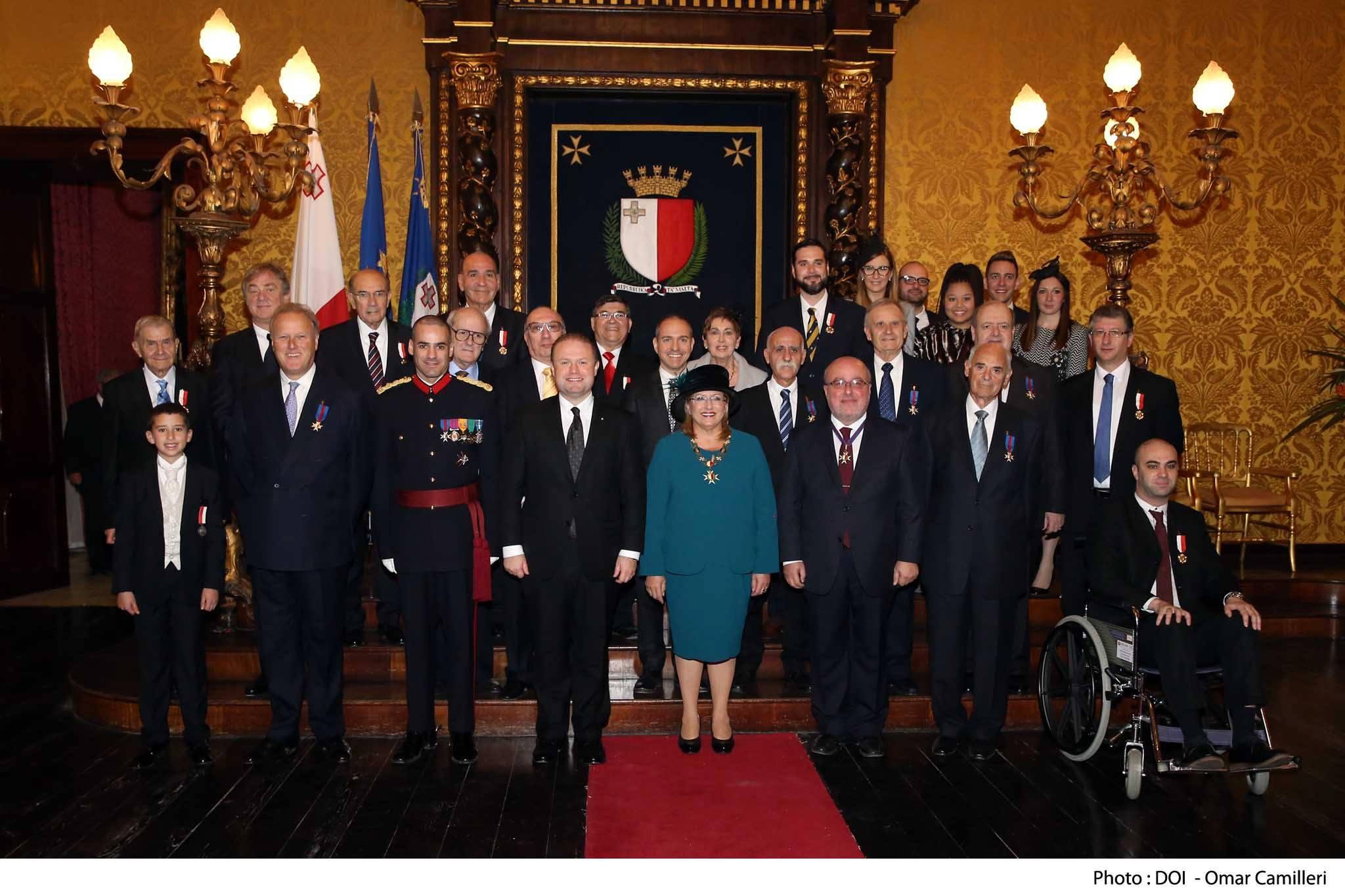 Malta awards MOAS the Medal of the Republic