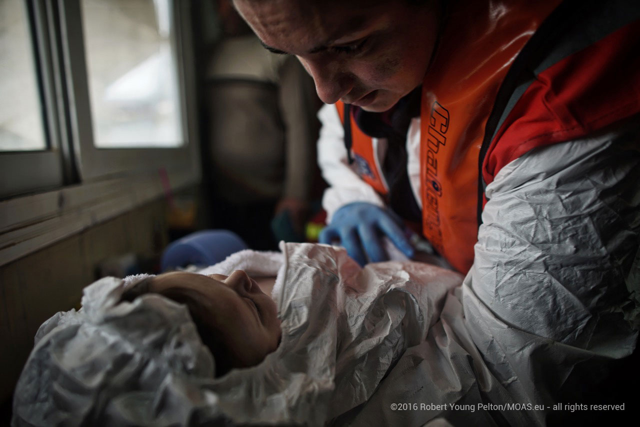 Dr Giada brings back a three month old baby from severe hypothermia in a remote fisherman's shack on Agathonisi