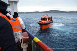 MOAS has two all-weather fast response boats named after Alan and Galip Kurdi who died attempting to cross the Aegean in September of last year. Their deaths sparked an international wave of support to prevent deaths at sea.