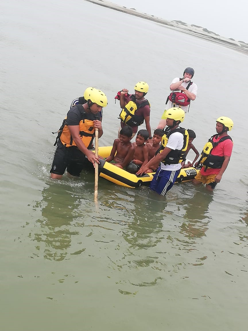 bangla flood training