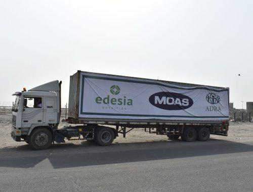 yemen lorry