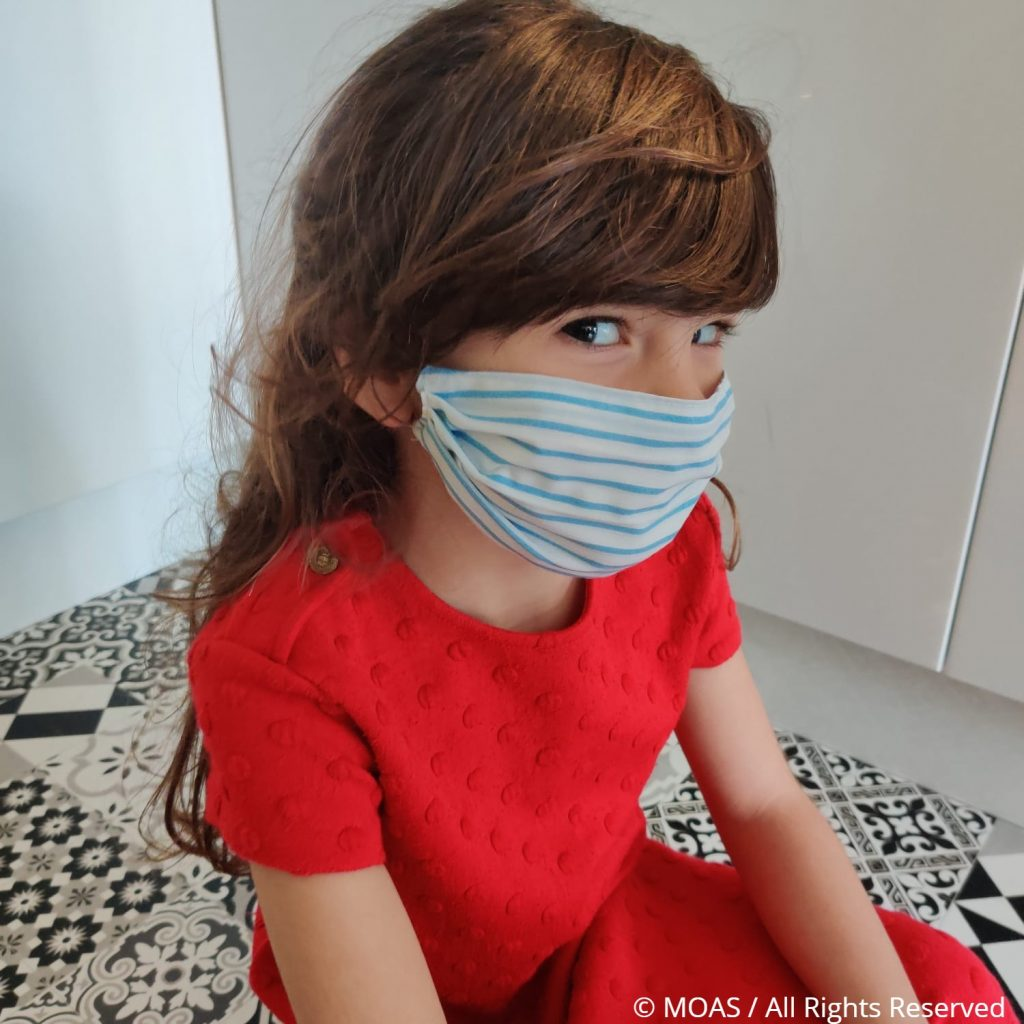 Child face mask WM